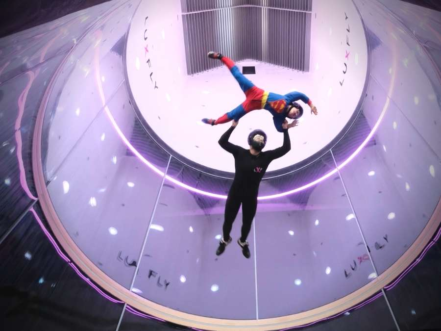 Indoor Skydive Luxemburg Kinderen